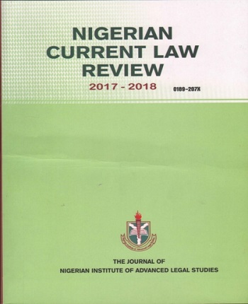 Nigerian Current Law Review