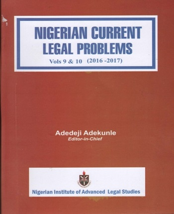 Nigerian Current Legal Problems